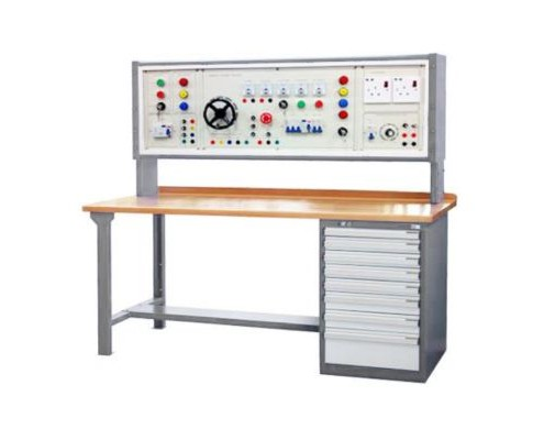 WORKBENCH WITH 3 PHASE POWER SUPPLY