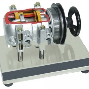 ROTARY COMPRESSOR STRUCTURE EDUCATIONAL - del